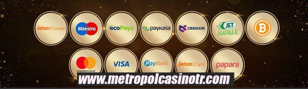 Casino Metropol Para Yatırma Metotları